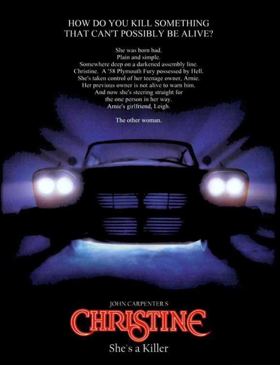 Christine (1983) poster