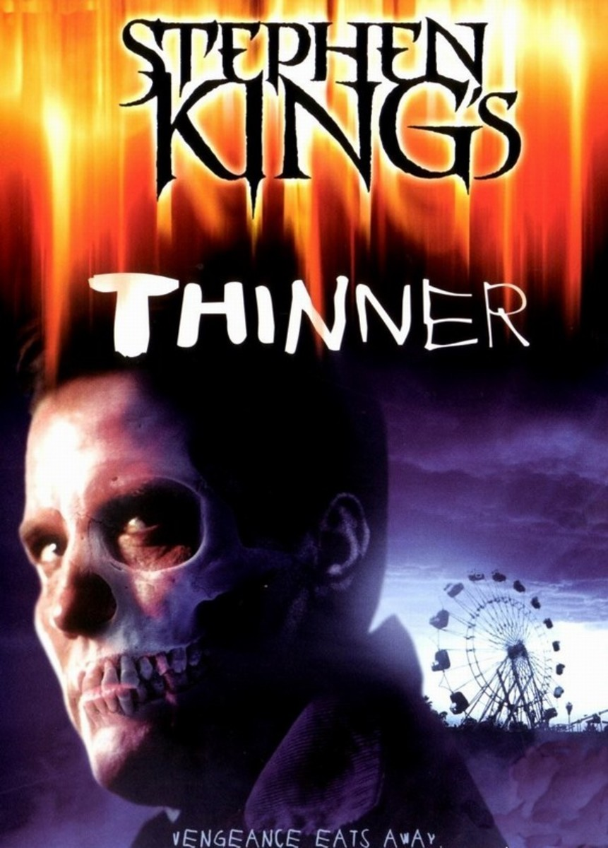 Thinner (1996) poster