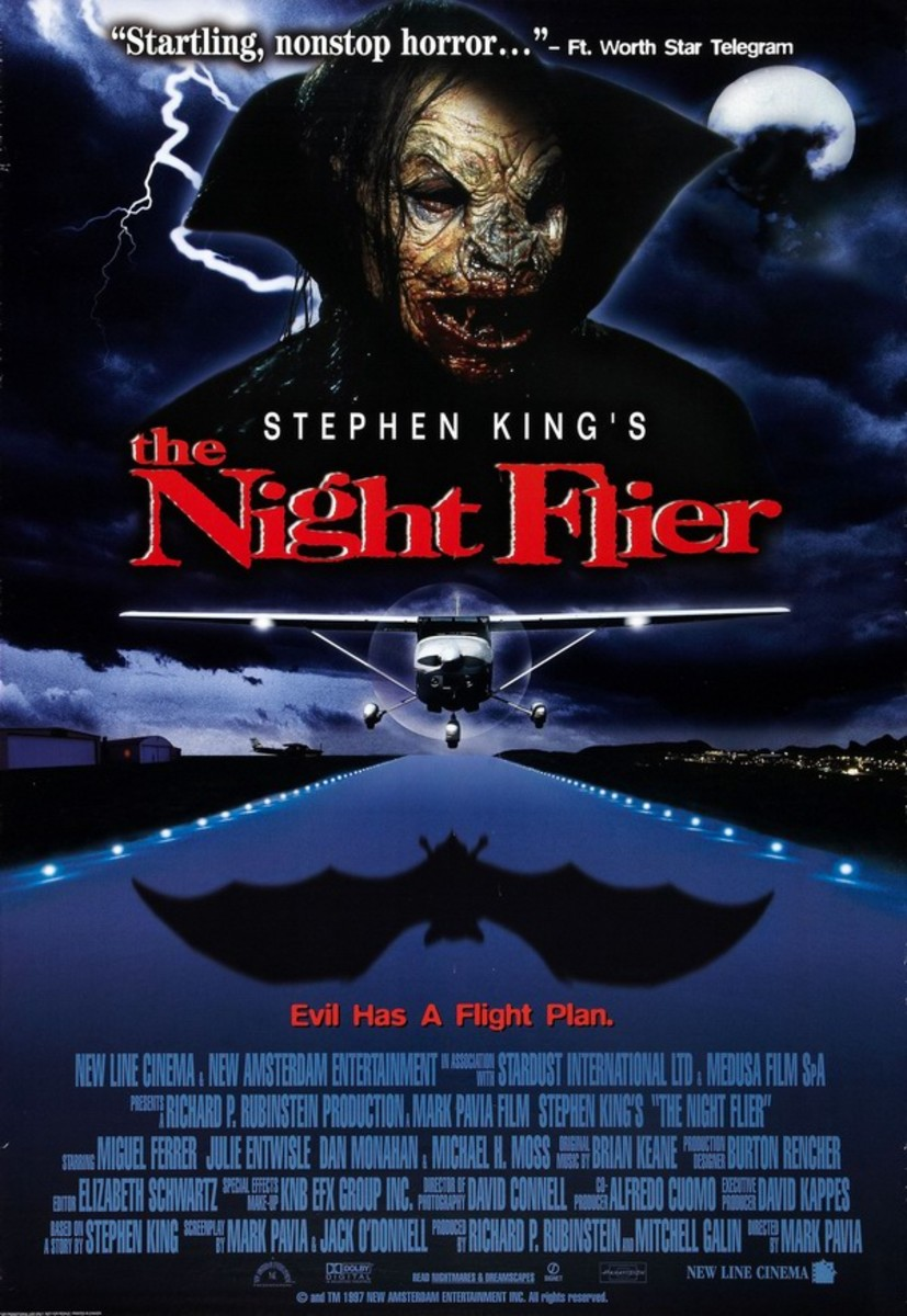 The Night Flier (1997) poster