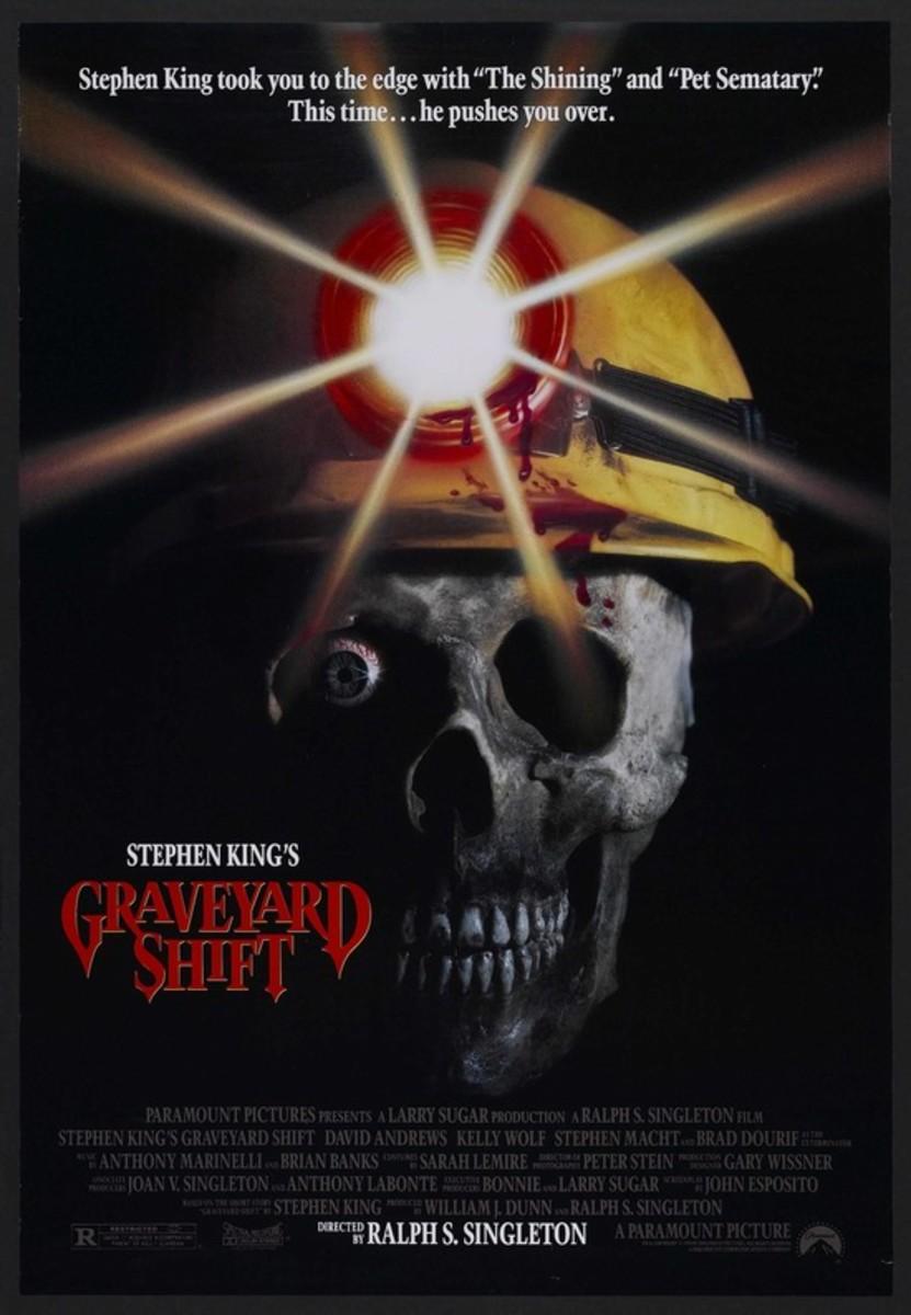 Graveyard Shift (1990) poster