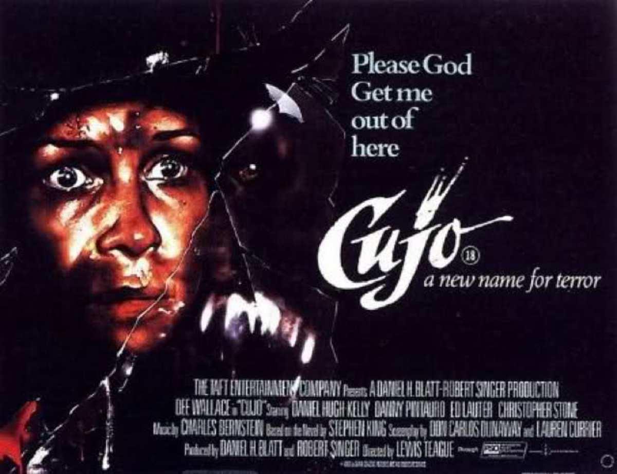 Cujo (1983) poster