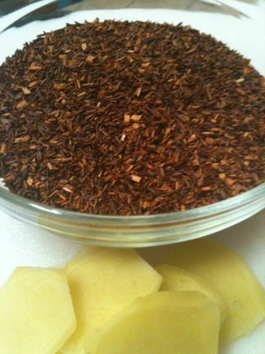 Loose leaf red rooibos tea