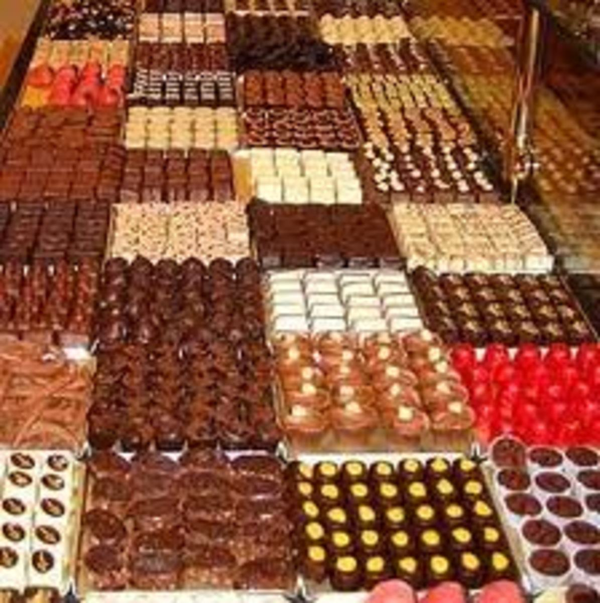 Belgian Chocolate! Yummy!