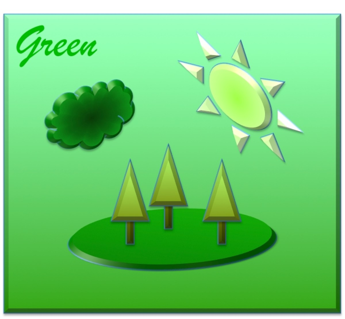 """What is the experience of """"green""""?"""