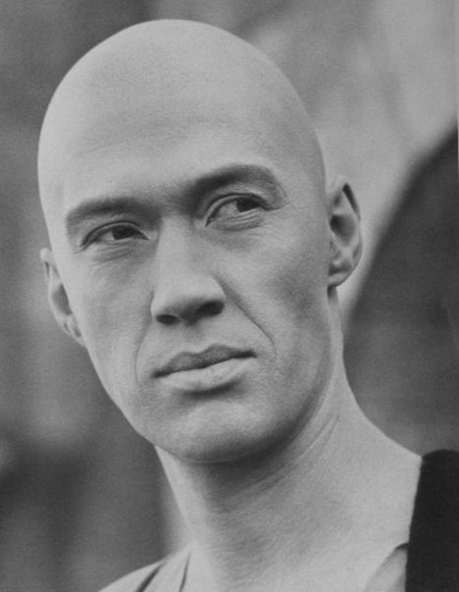David Carradine in Kung-Fu.