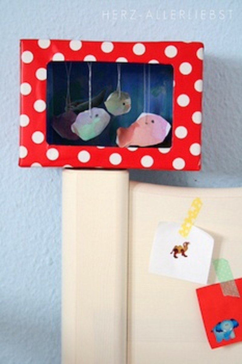 how-to-make-shoebox-paper-aquarium-crafts