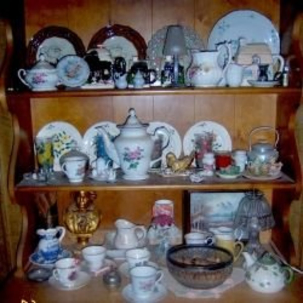 Repurposed teacups