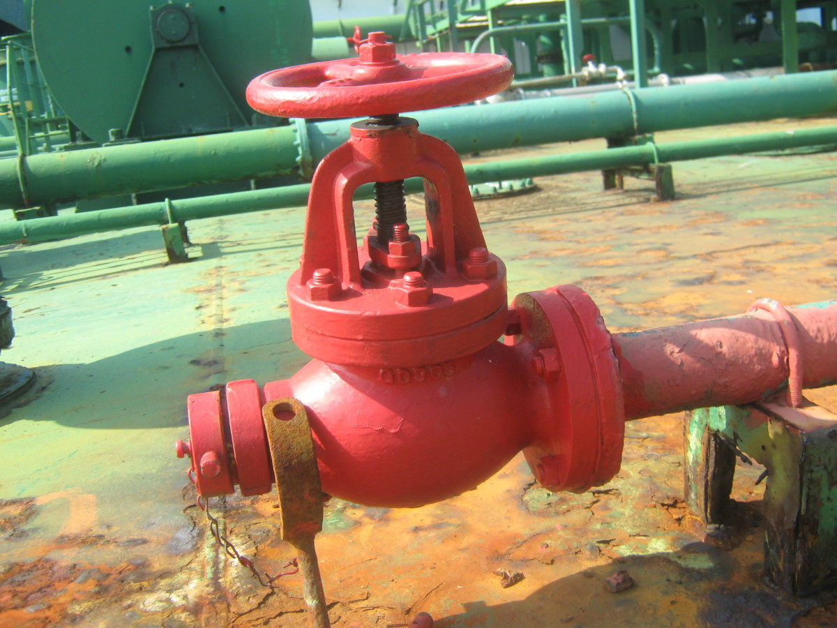 FIRE HYDRANTS - FIRE LINE / SEA WATER OUTLET FOR FIRE FIGHTING