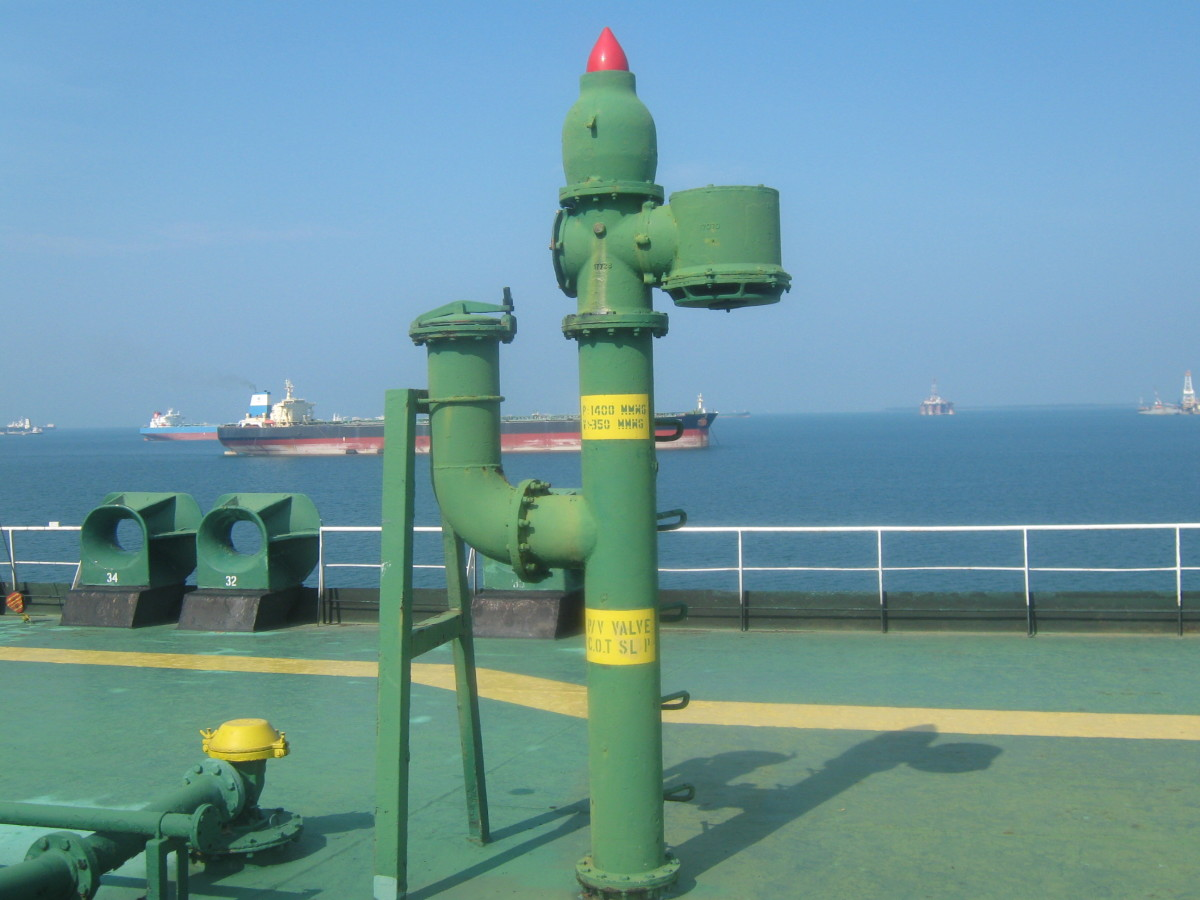 P/ V VALVE - TO RELIEF THE CARGO TANKS FROM PRESSURE / VACUUM CONDITIONS