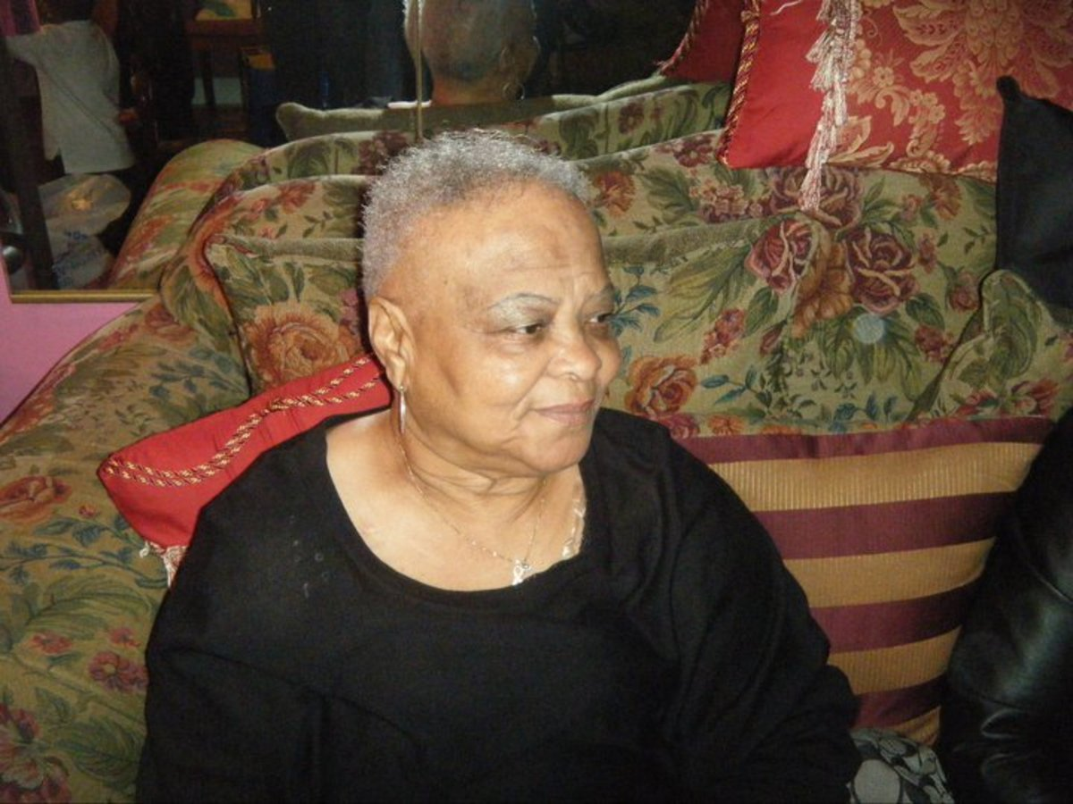 """Grandma"" Acrostic Poem For My Grandmother"