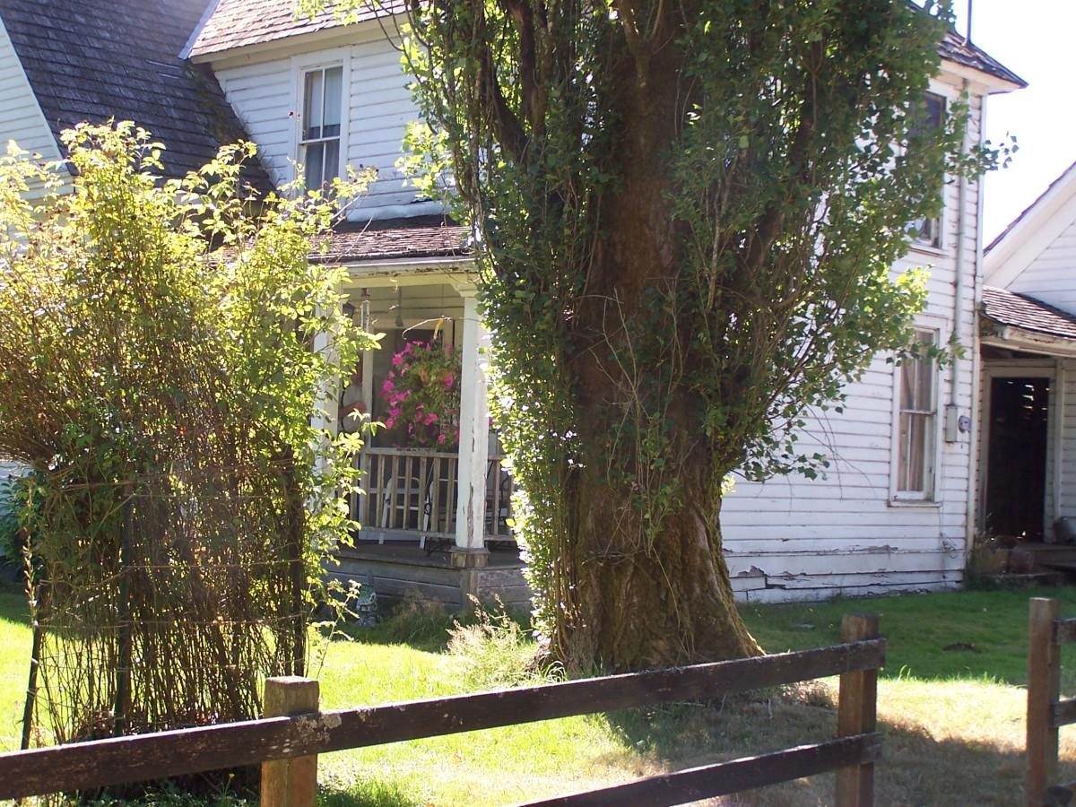 The Rutledge farmhouse