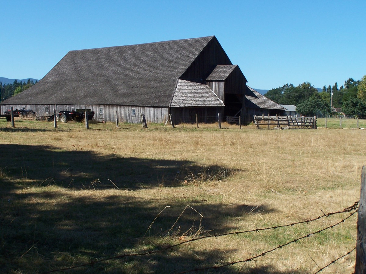 The History Of One Old Barn In Washington State