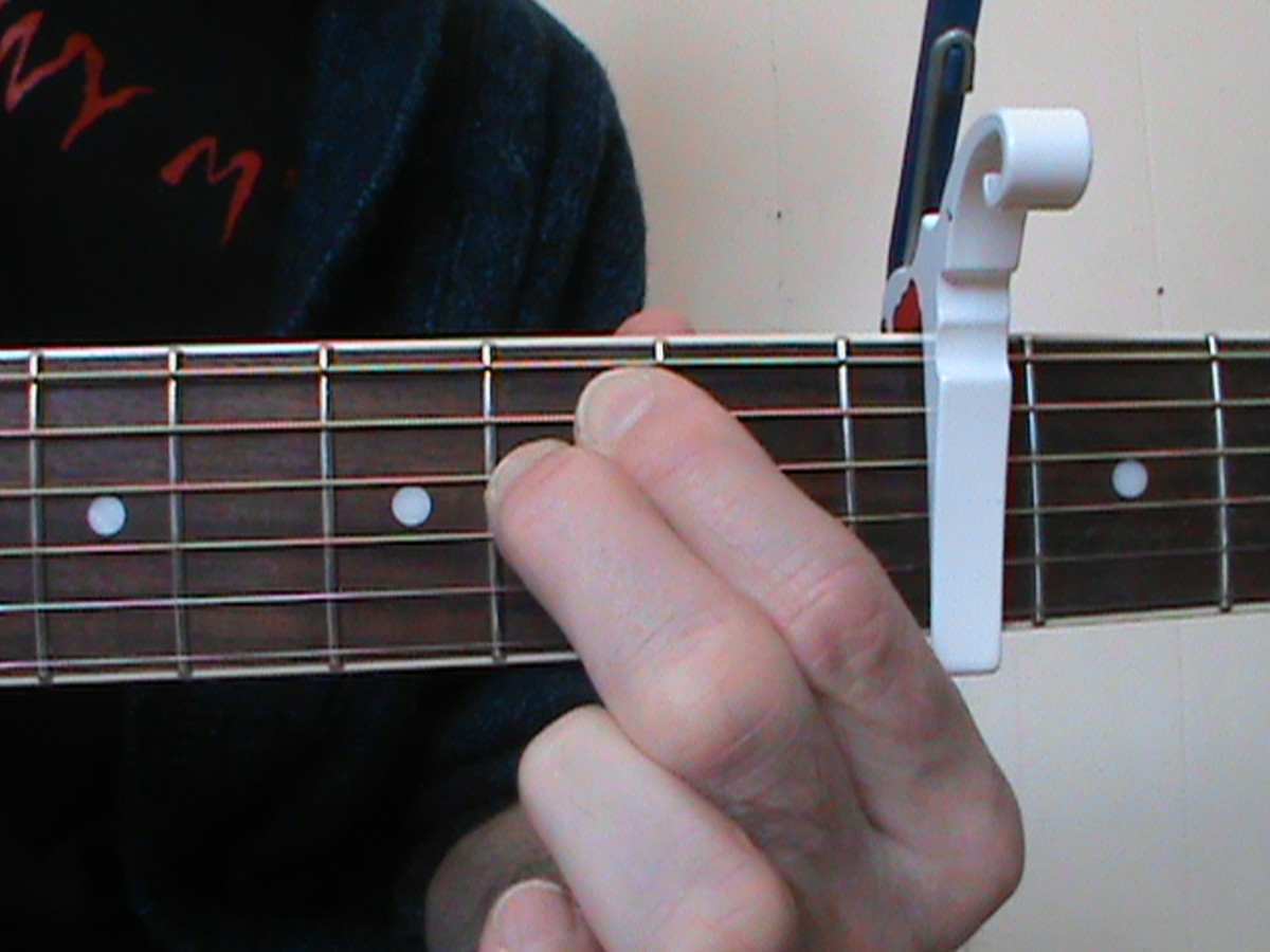 Em minor (Capo Fourth Fret)