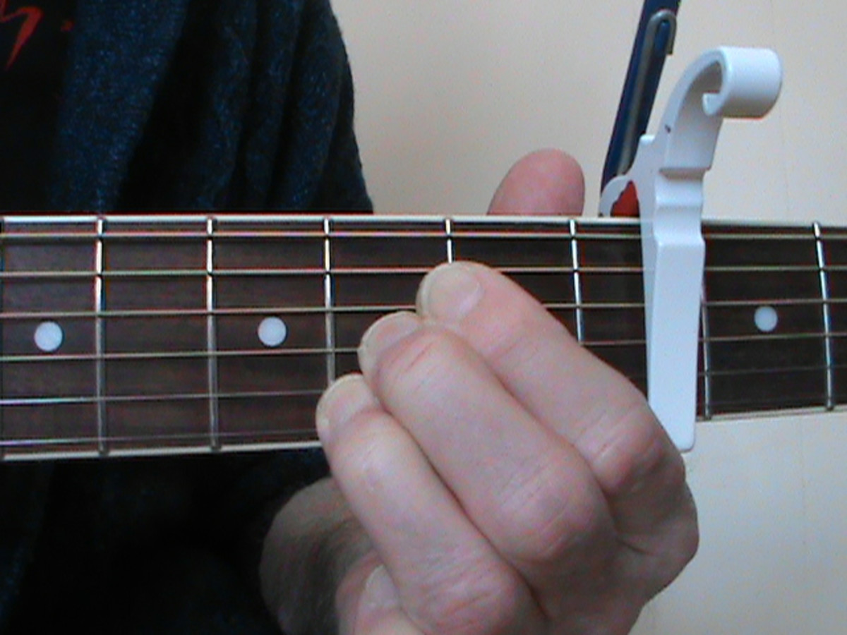 A Major (Capo Fourth Fret)