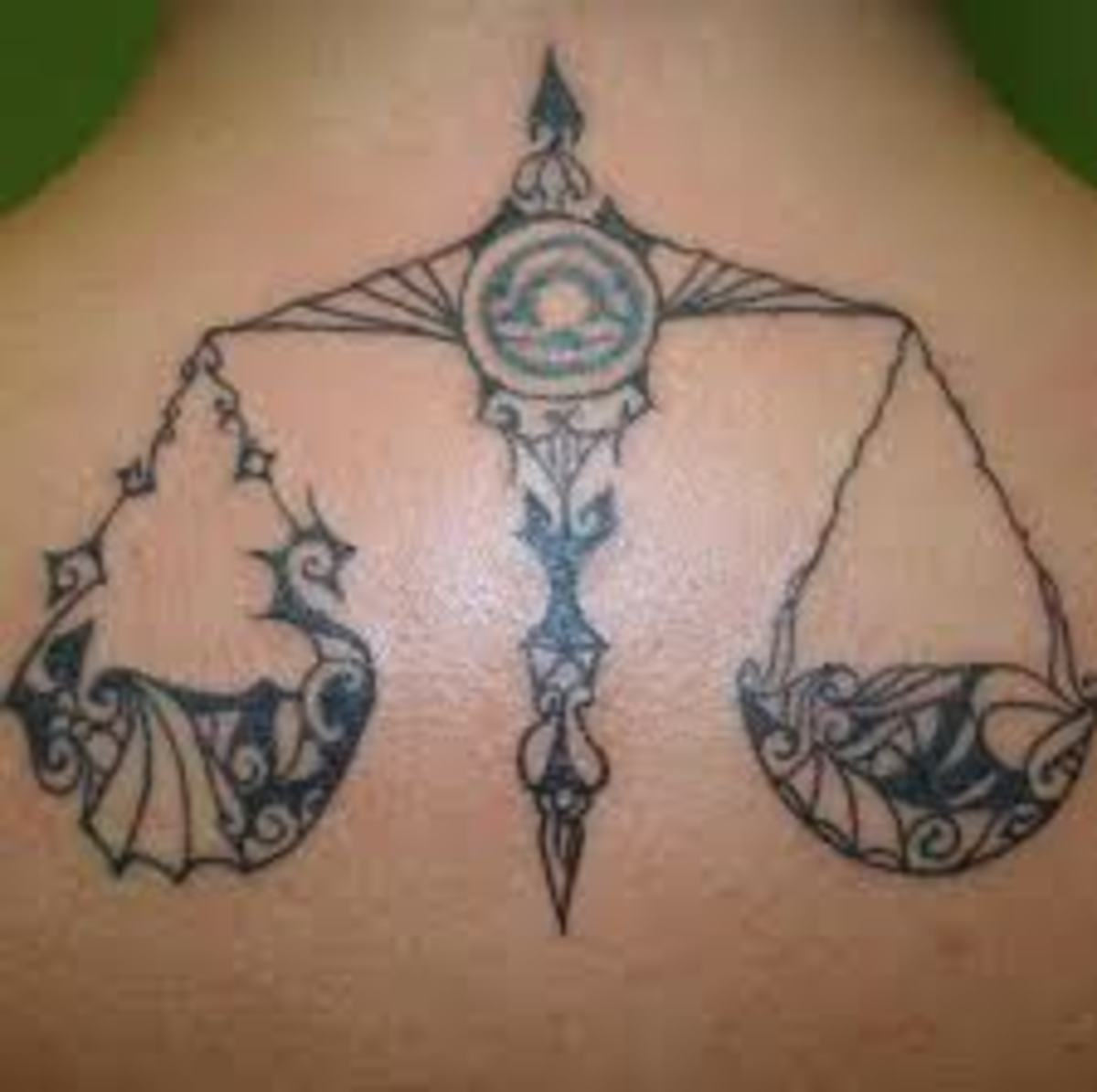 Libra Tattoo Meanings and Designs