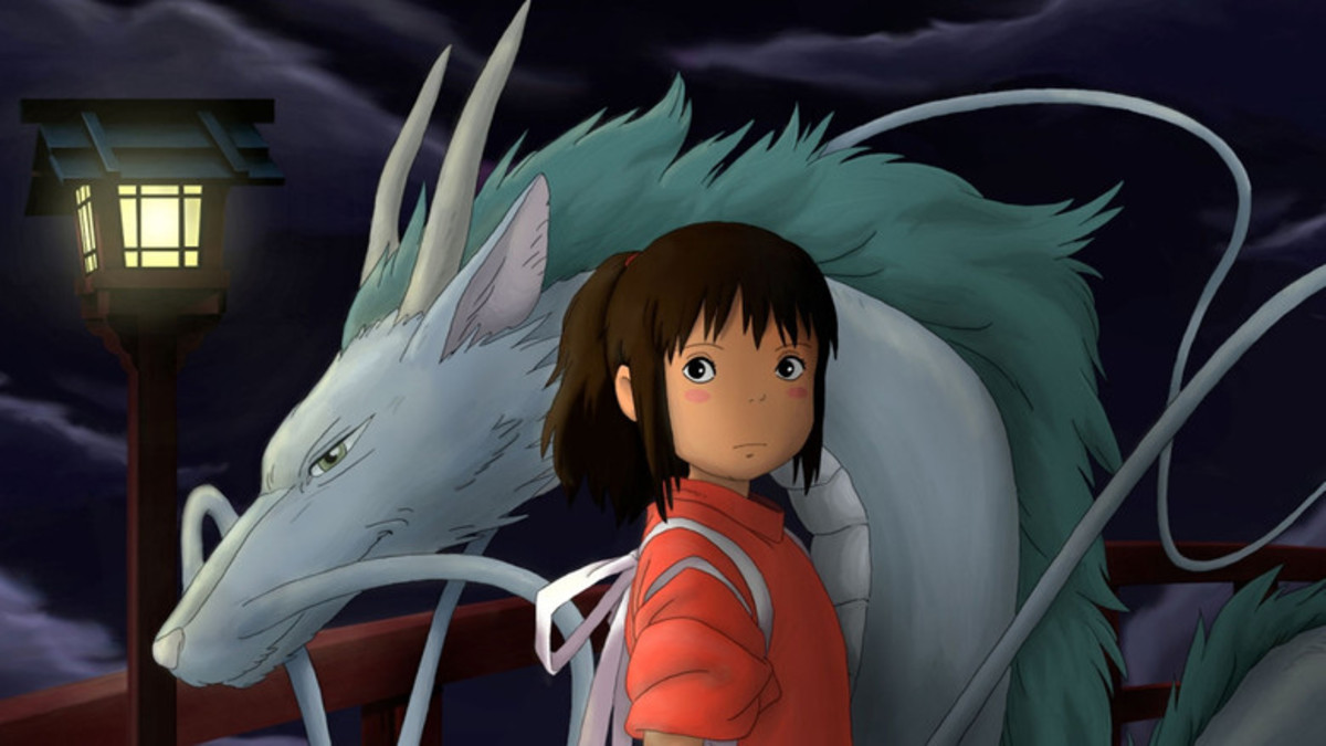 Just about to settle to a new town, 10 year old Chihiro got the adventure of her life by being trapped into the spirit world with her parents being transformed into pigs.