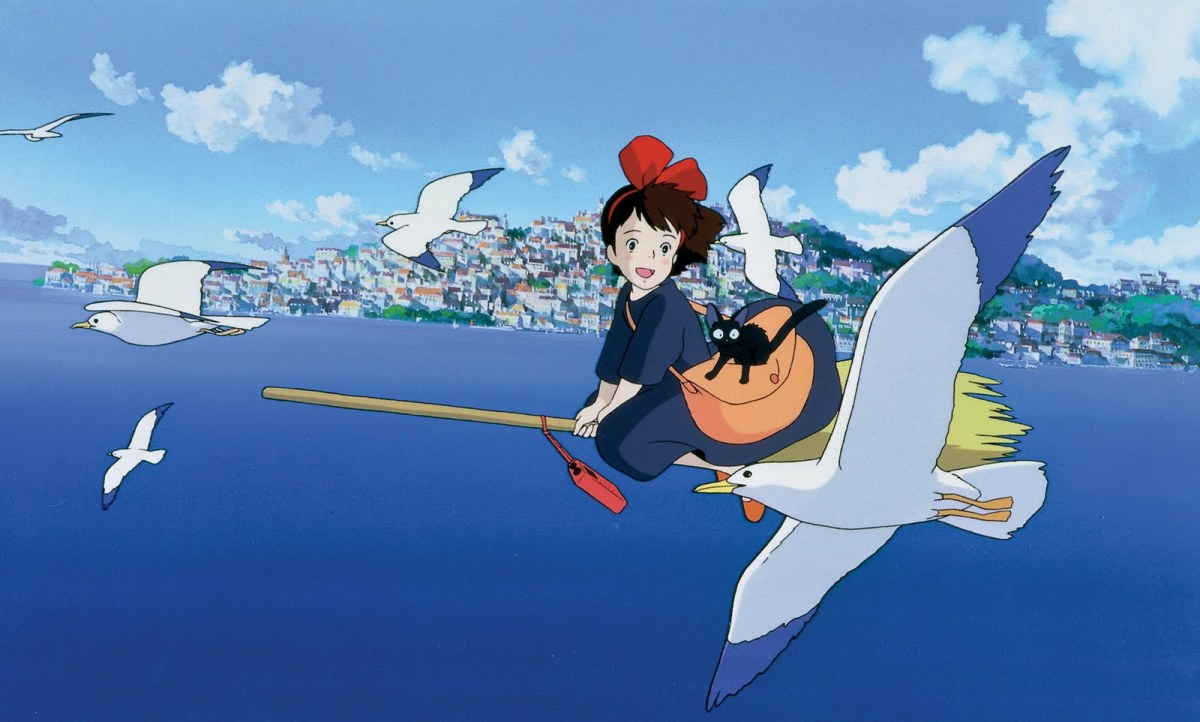 Fly high with Kiki on Kiki's Delivery Service.