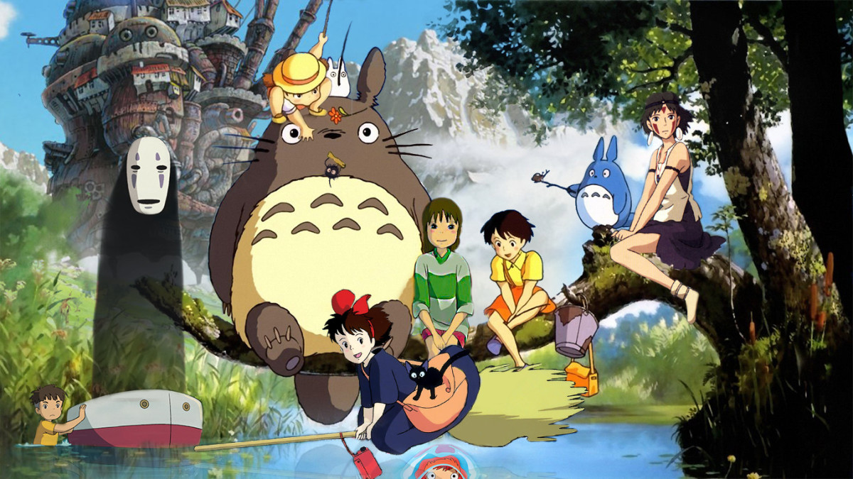 Studio Ghibli Films - Animated Movies