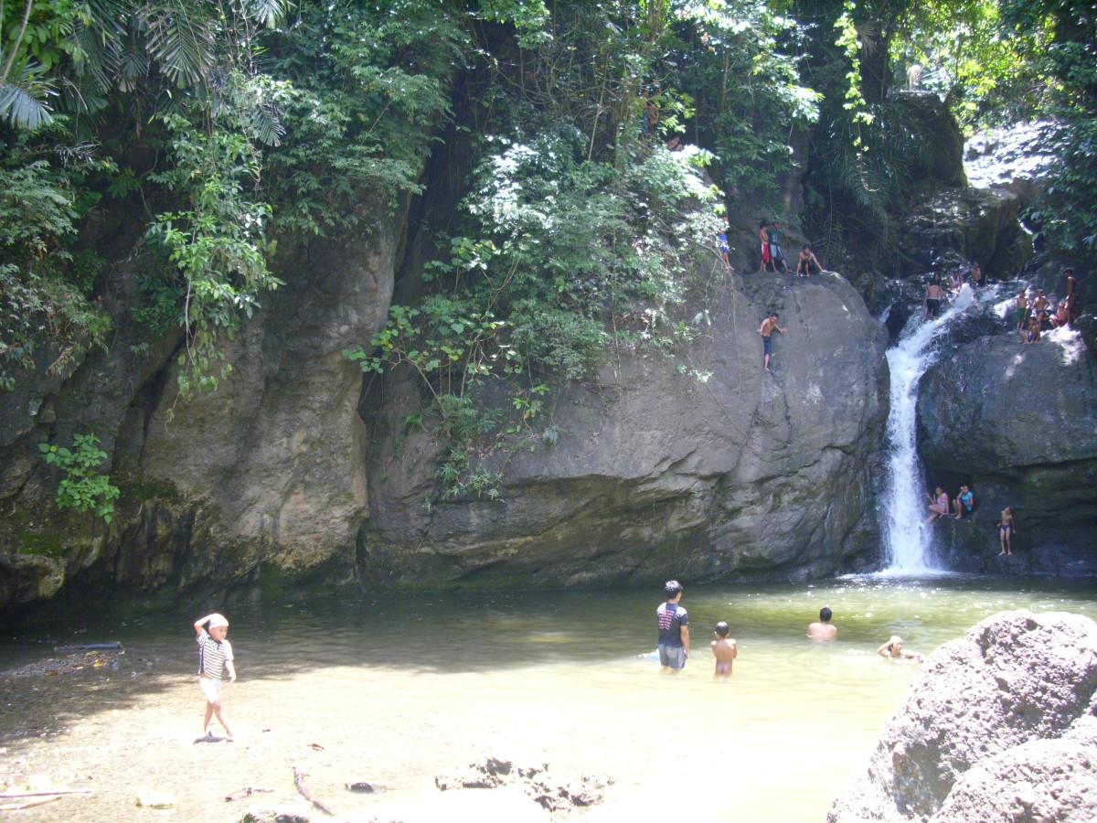 Busay Waterfalls, Macalang, Buenavista, Agusan del Norte, Philippines