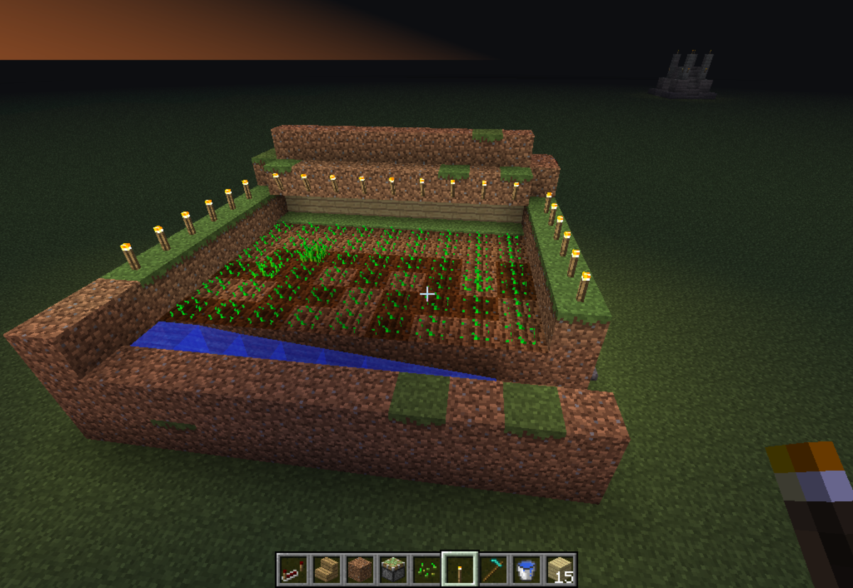 Minecraft Guide : Making an automatic Wheat farm