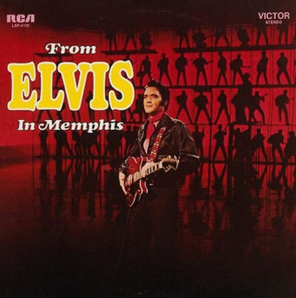 From Elvis in Memphis LP album cover