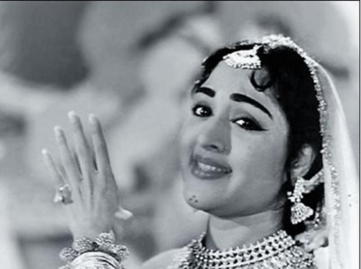 Vyjayanthimala in film Naya daur