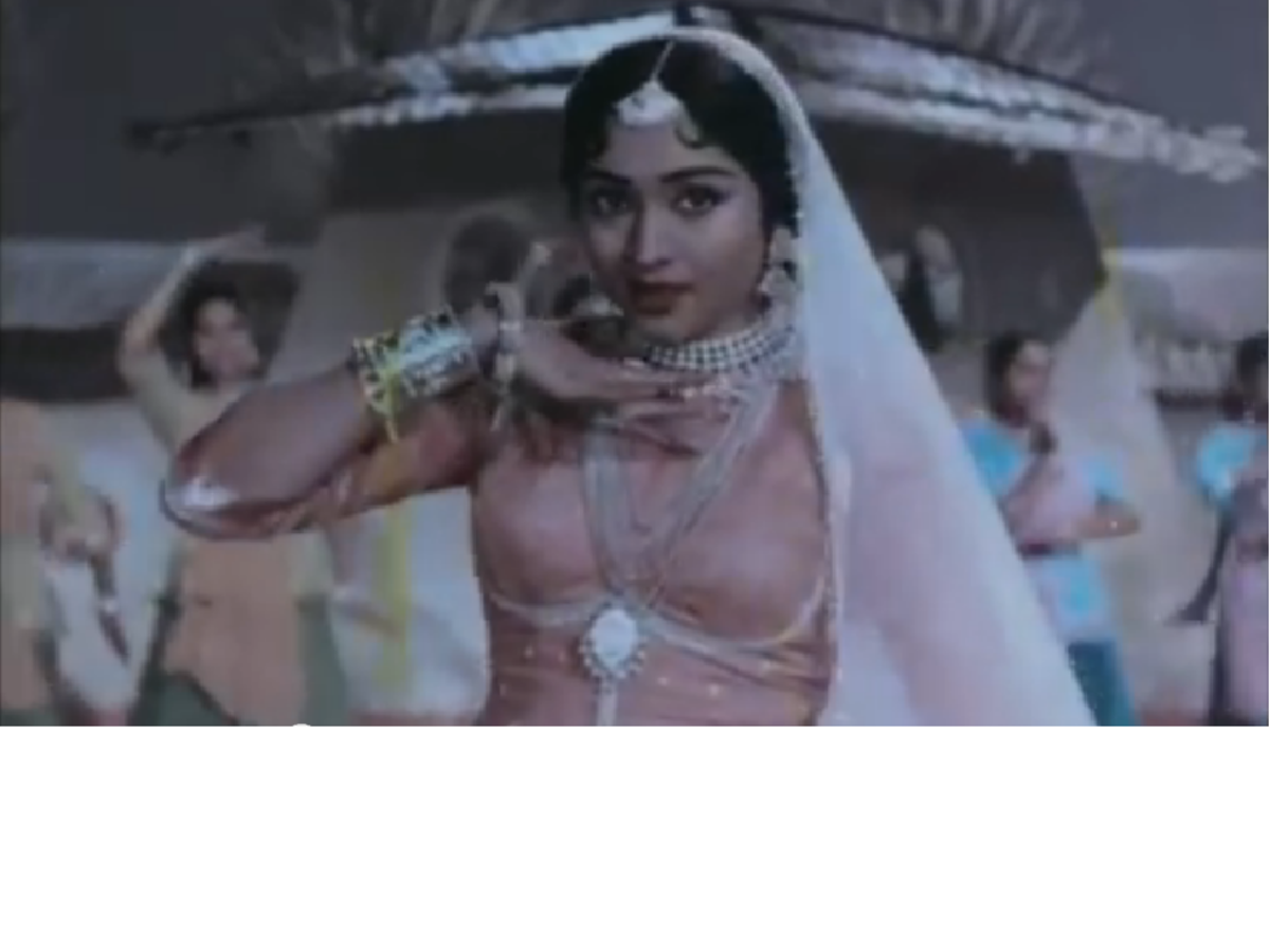 Vyjayanthimala in film Ganga Jamna
