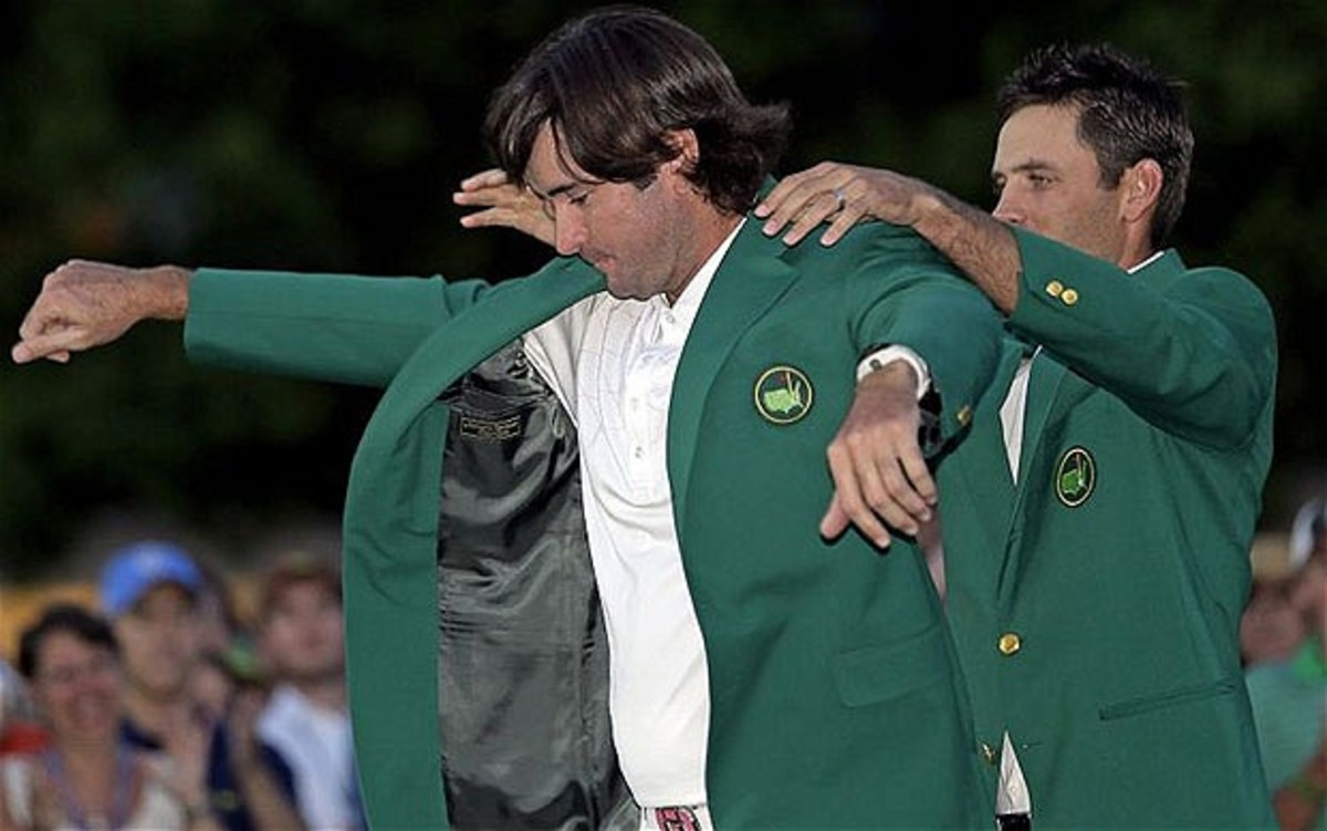 The coveted Green Jacket