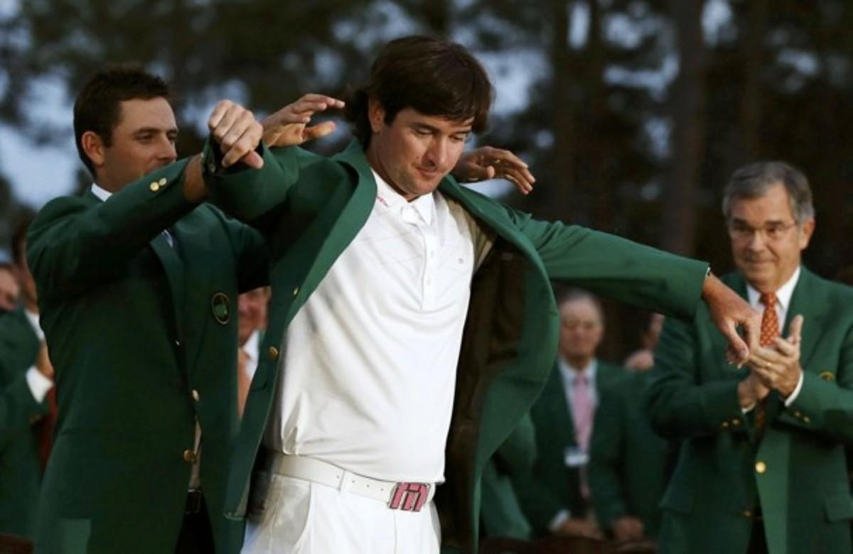 Bubba Watson:  2012 Master's Golf Champion