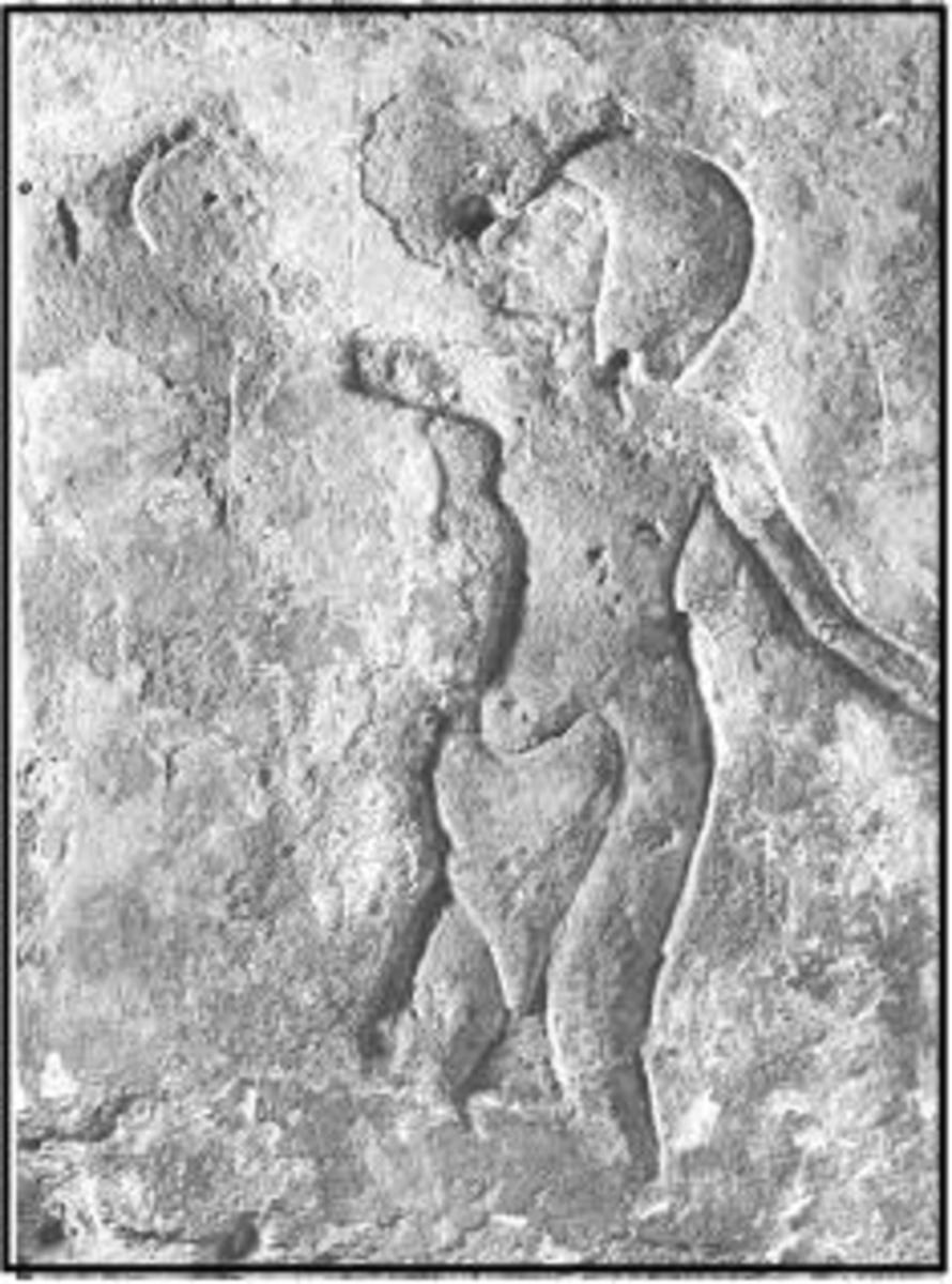 The triangular apron worn by Akhenaten's servants