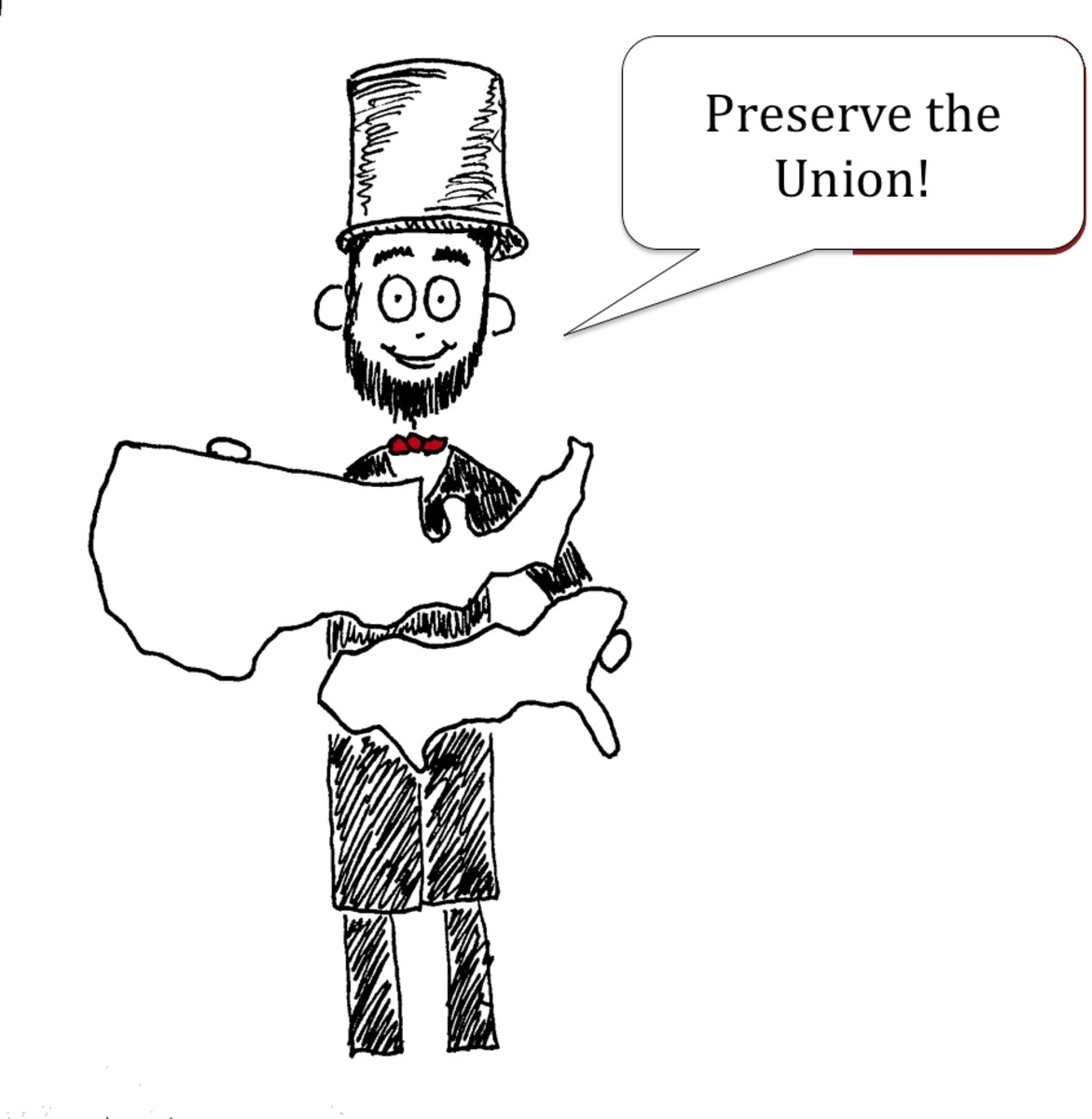 An essay on Lincoln--Connecting to the BIG ideas!