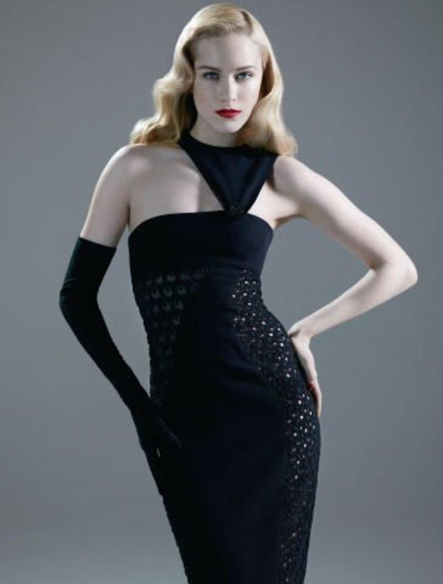 Versace Silk Crochet Gown