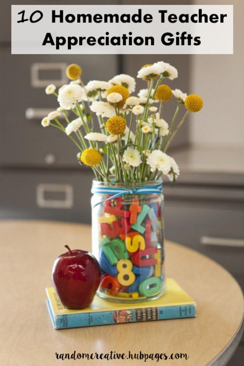 10 Homemade Teacher Appreciation Gifts Personalized Unique Ideas