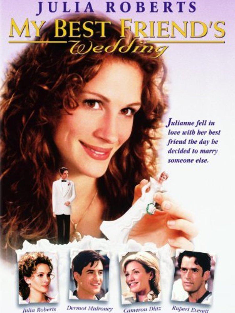 My Best Friend's Wedding is a 1997 romantic comedy film starring Julia Roberts, Dermot Mulroney, Cameron Diaz and Rupert Everett.