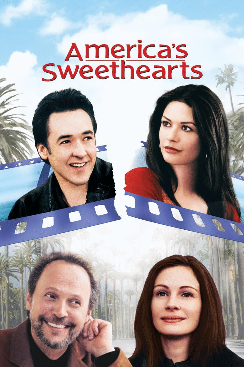 America's Sweethearts stars Julia Roberts, Billy Crystal, John Cusack and Catherine Zeta-Jones.