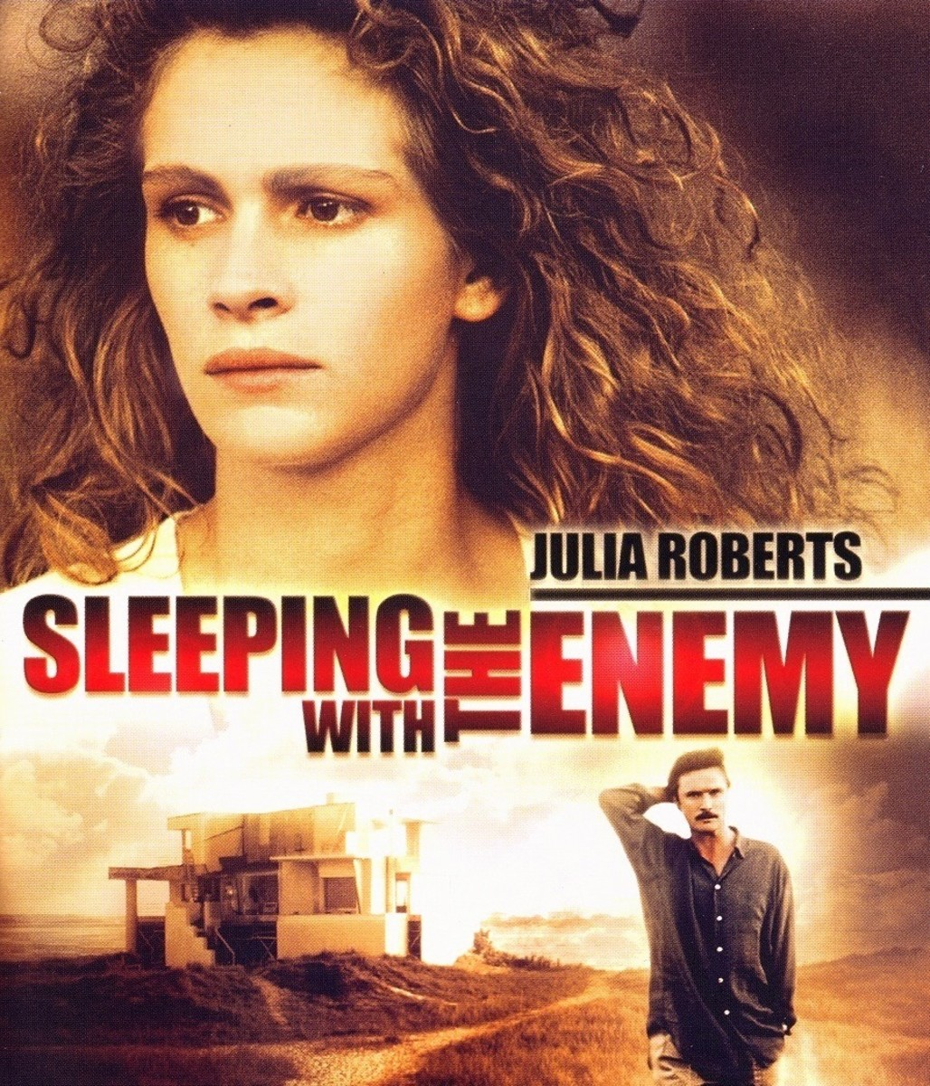 Sleeping with the Enemy is a 1991 psychological thriller starring Julia Roberts, Patrick Bergin and Kevin Anderson.