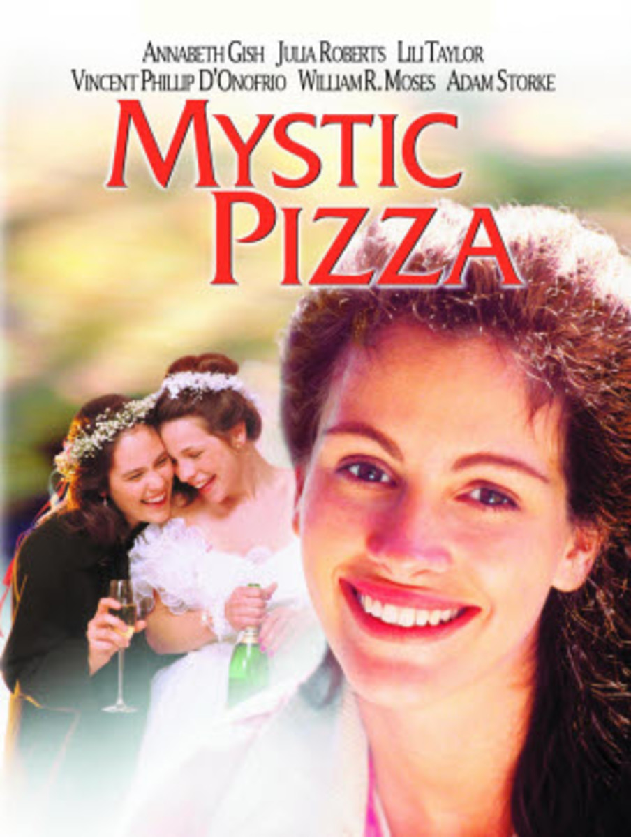 Mystic Pizza is a 1988 American romantic comedy film with Julia Roberts, Annabeth Gish and Lili Taylor in lead roles.
