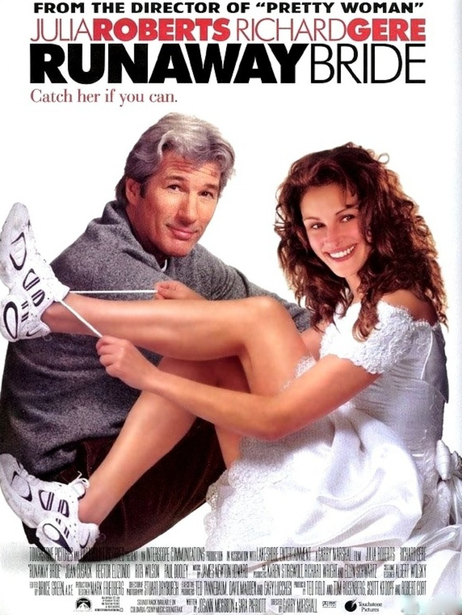 Runaway Bride is a 1999 American romantic comedy starring Julia Roberts and Richard Gere.