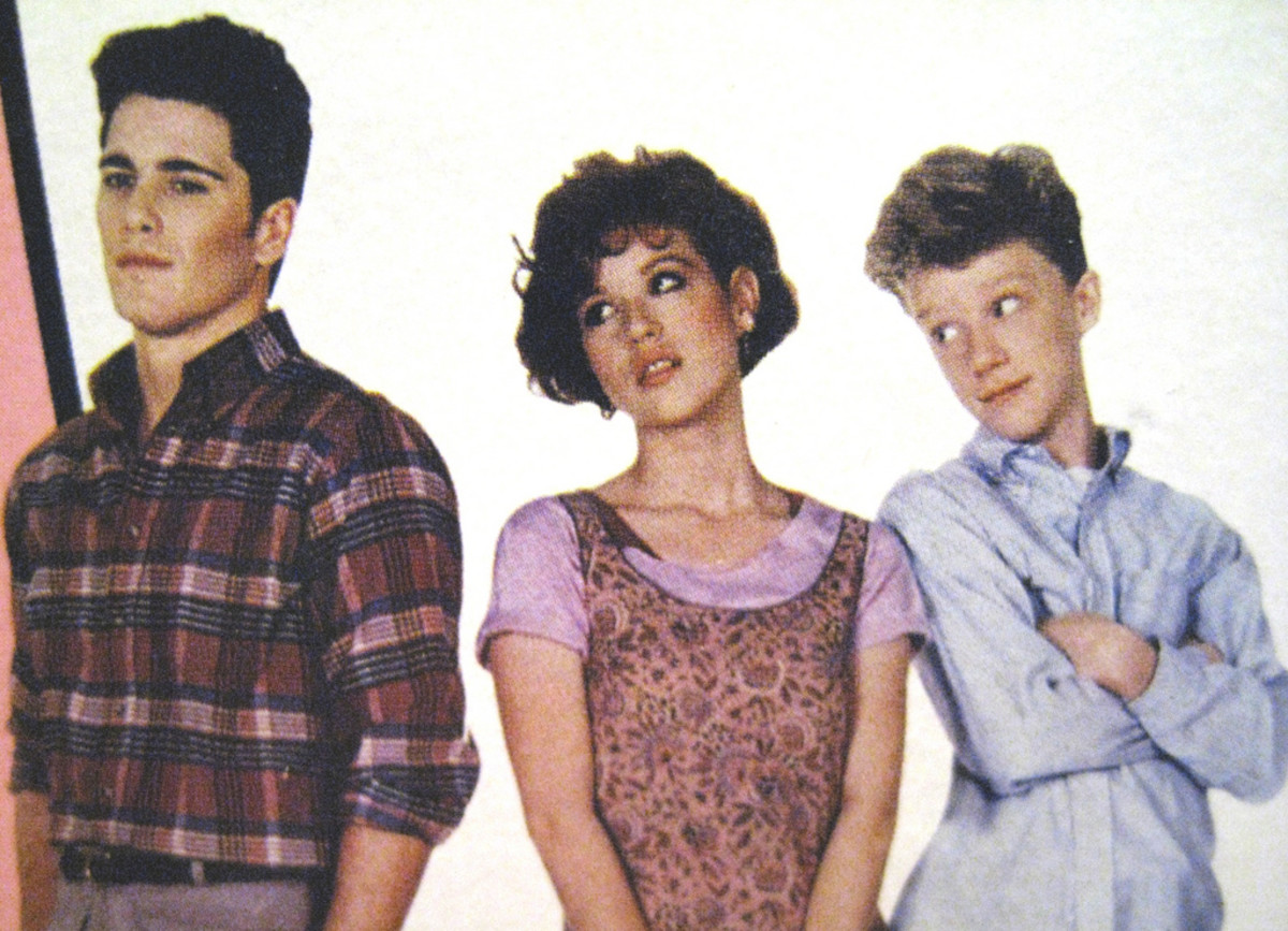 "The stars of John Hughes' 1980s hit ""Sixteen Candles"""