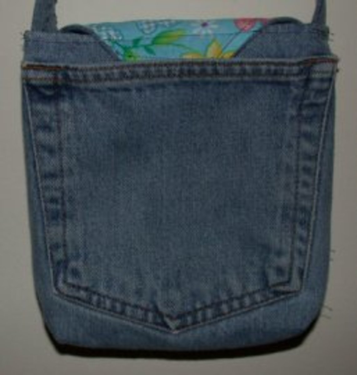 Jean Pocket Purse Back View