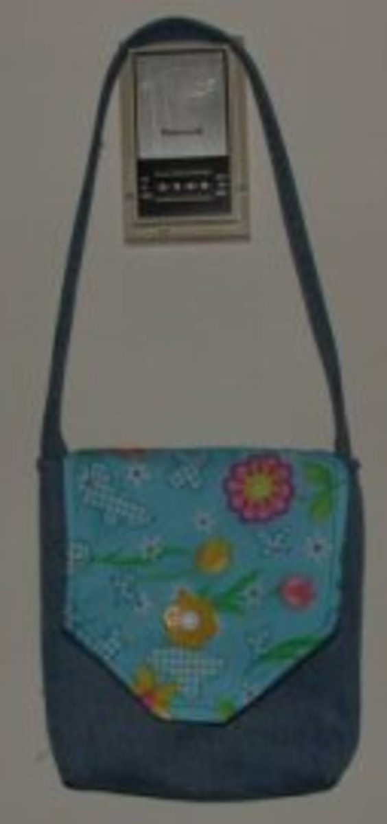 Jean Pocket Purse Front View - See link below