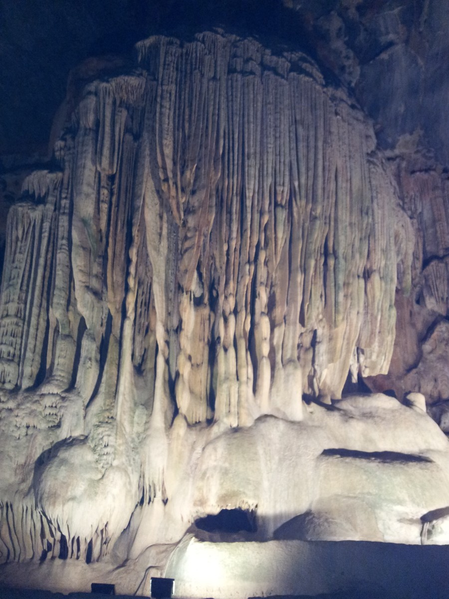 Visiting the Cango Caves in Oudtshoorn is a must!
