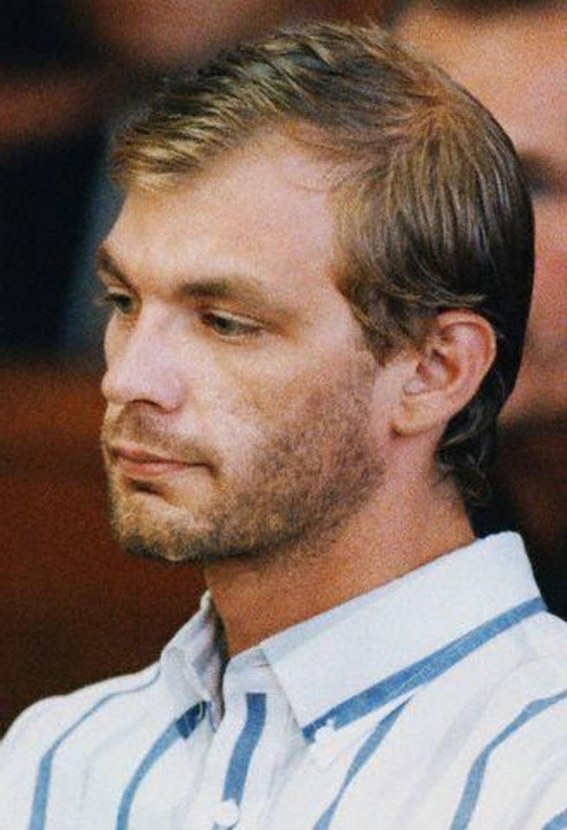 Jeffrey Dahmer, serial killer.