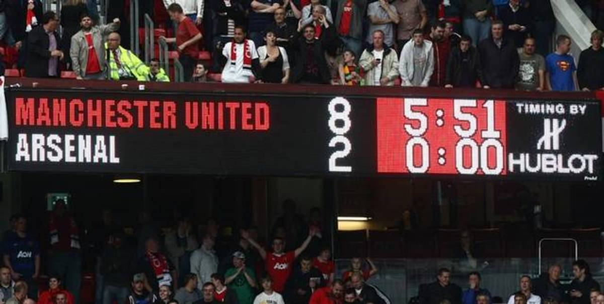 The unbelievable scoreline.