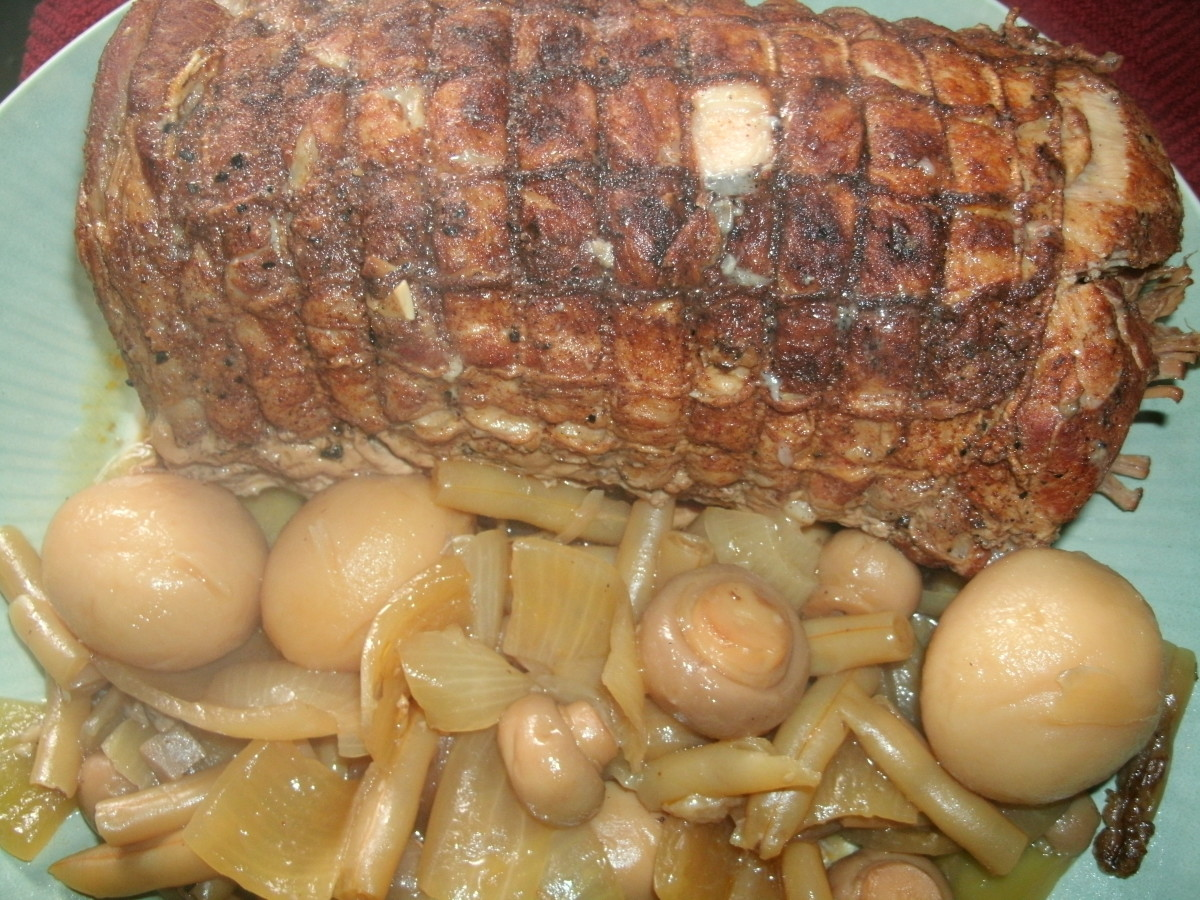 Dad's Slow Cooker Pork Loin Roast