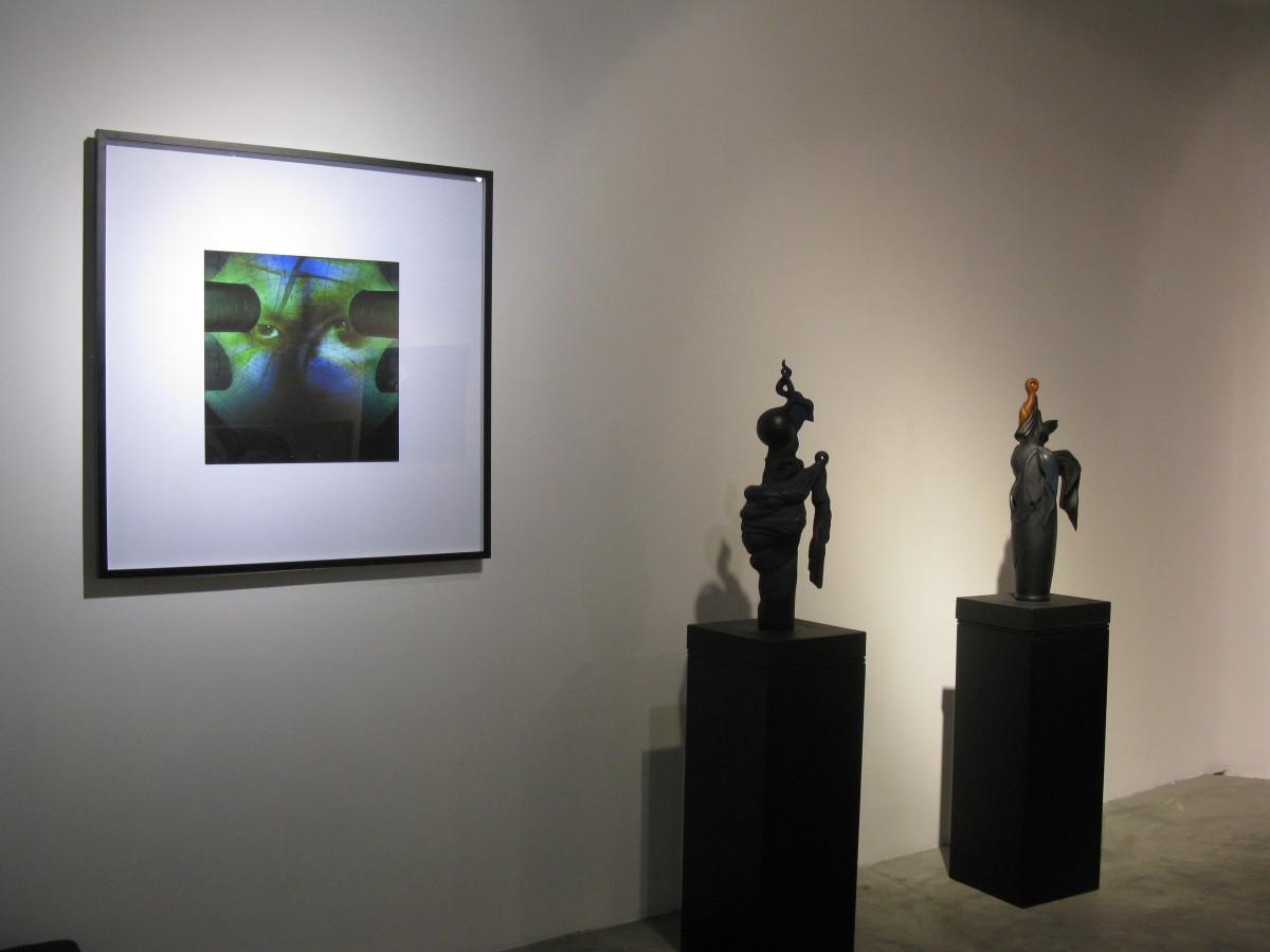 art on display at Studio White • Exhibition 2011 (Shanghai, China, November 2011)
