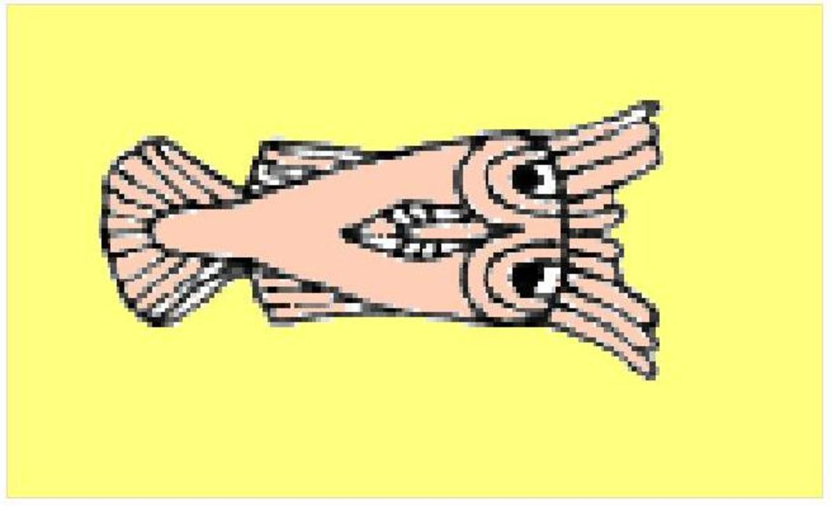 King Menes of Ancient Egypt, his fish symbol and modern terms for fish in kenya