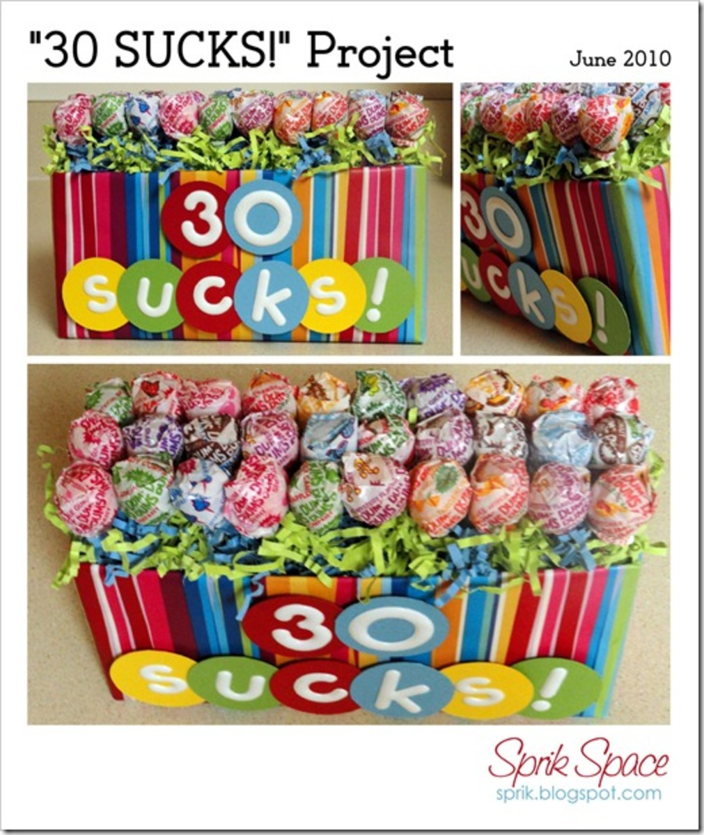 Turning 30 Birthday Basket: 30th Birthday Party Ideas: Themes, Supplies, Decorations