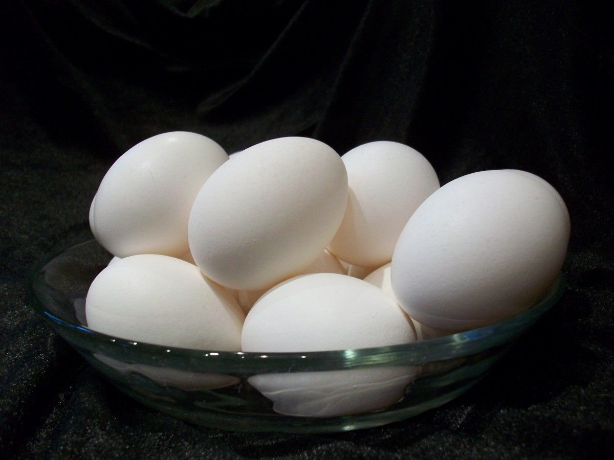 Eggs symbolize the cycle of life.