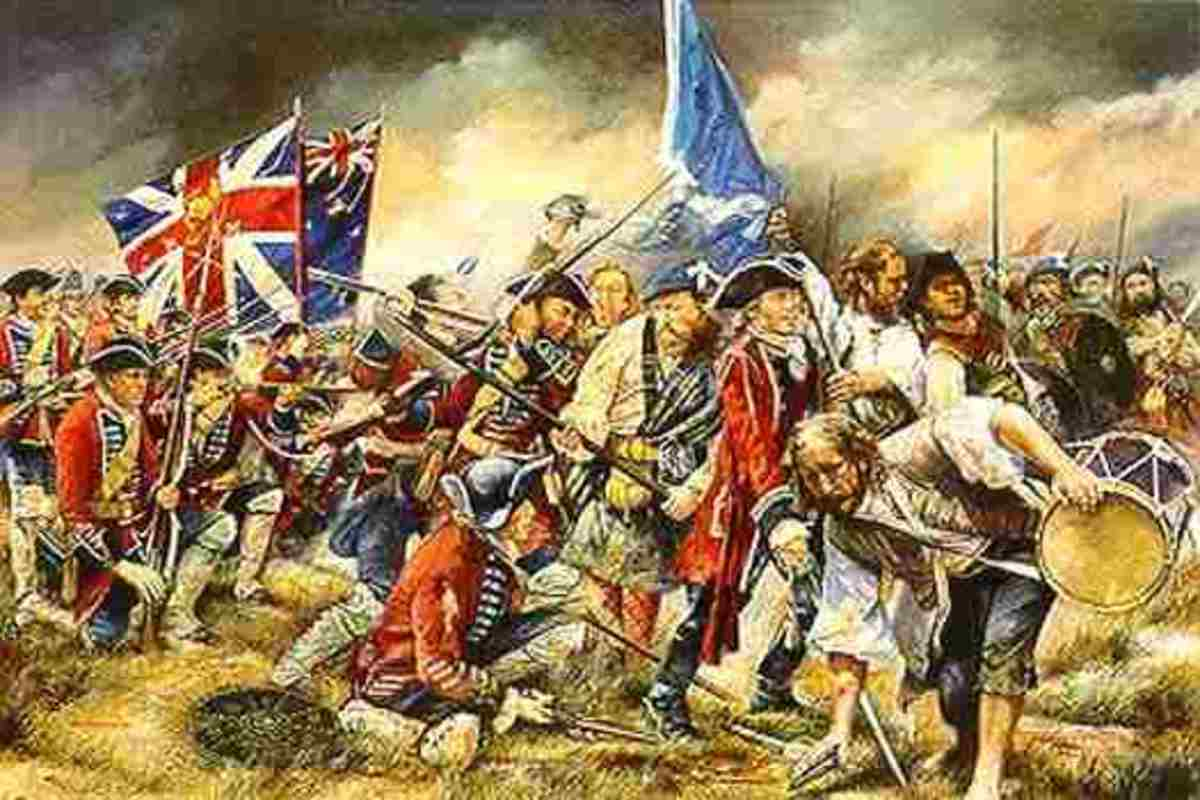 The battle of Culloden Scots against Scots Public Domain
